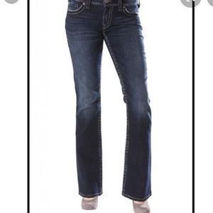 Silver Pioneer Jeans